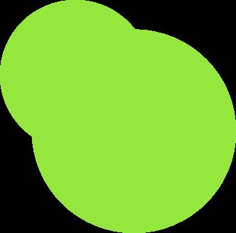Green Bubbles Bottom